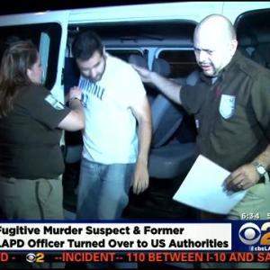 Fugitive Ex-LAPD Officer Suspected In Pomona Murder In Custody