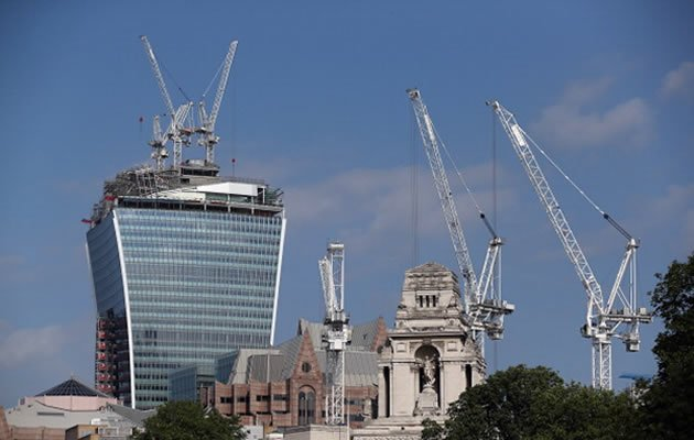 London's Walkie Talkie skyscraper might be in trouble for causing cars parked underneath to