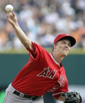 Greinke and Kendrick help Angels beat Tigers 2-1