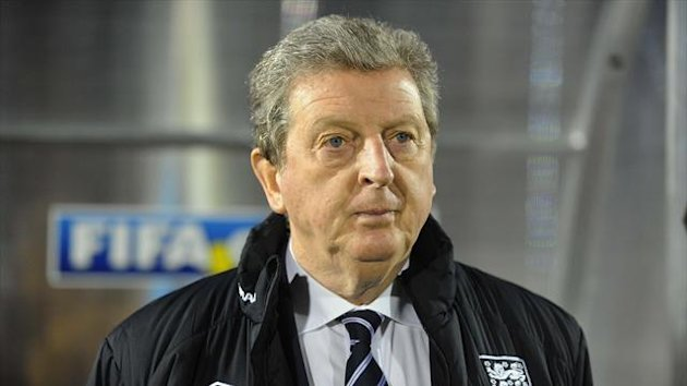 Roy Hodgson, pictured, was tight-lipped over Rio Ferdinand
