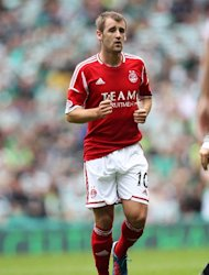 Niall McGinn earned Aberdeen a point