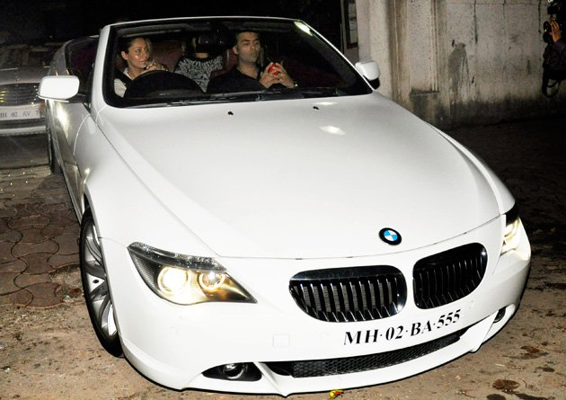 Celebs and their cars