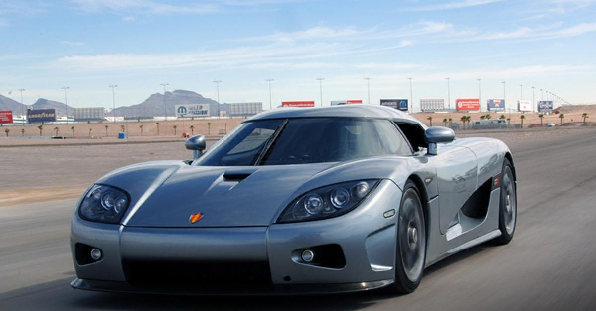 10 Fastest Production Sports Cars