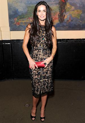 PIC: Demi Moore Looks Thin, Radiant at Rare Post-Rehab Appearance in NYC