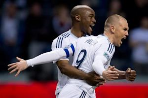 Miller leads Whitecaps to 2-1 win over Crew