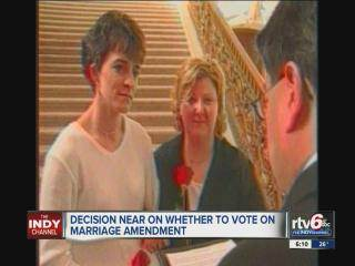Ind. lawmakers want to put off gay marriage plan until Supreme Court rules