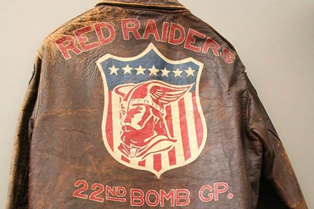 Jacket worn by World War II pilot Robert Arand (Jennifer Hlad © 2013 Stars and Stripes)