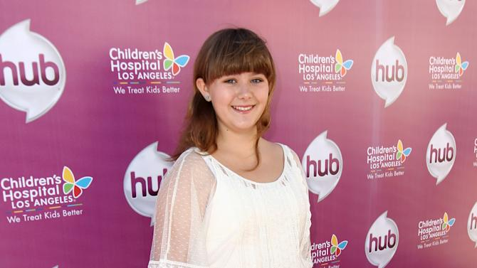"""Ada-Nicole Sanger attends The Hub TV Network's """"My Little Pony Friendship is Magic"""" Coronation Concert at the Brentwood Theatre on Saturday, Feb. 9, 2013, in Los Angeles in support of Children's Hospital LA. (Photo by Matt Sayles/Invision for The Hub/AP Images)"""