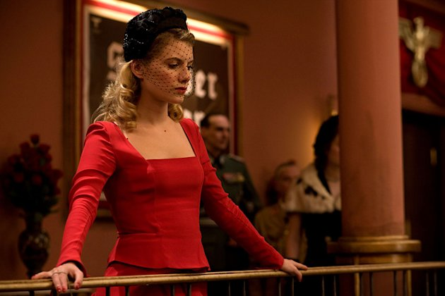 Inglourious Basterds Production Photos 2009 Weinstein Company Melanie Laurent