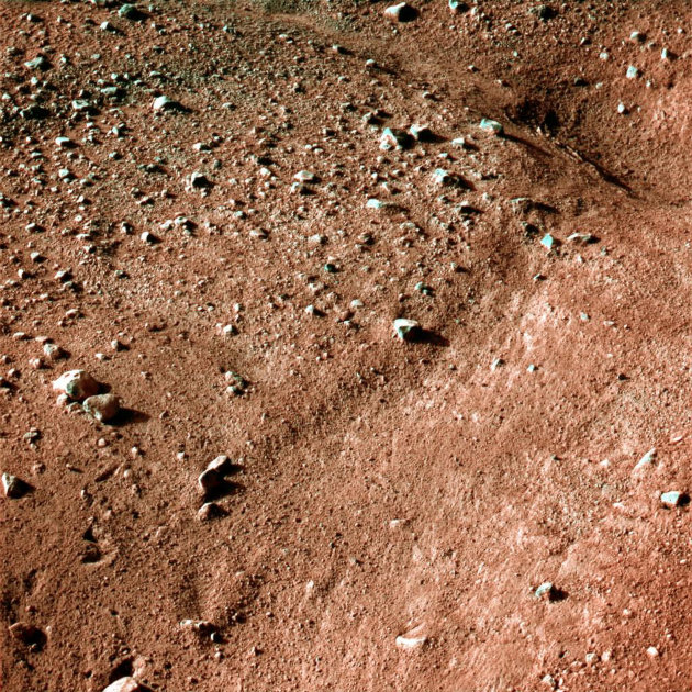 The surface of Mars, the 'Red Planet' RTX666Z_164132