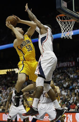 Pacers finish off Hawks, win Game 6 81-73