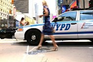 New York police on Wednesday launched what officials say is a revolutionary camera surveillance system that will simultaneously scan the streets and call up data on suspects