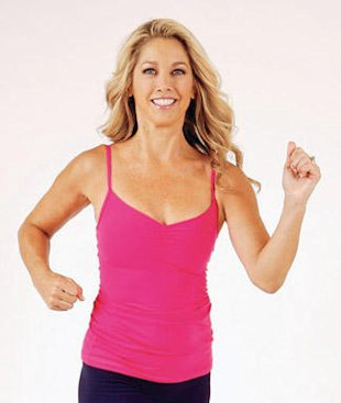 Denise Austin's Walking Routine