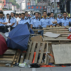 Little Progress Made in HK Protest Talks