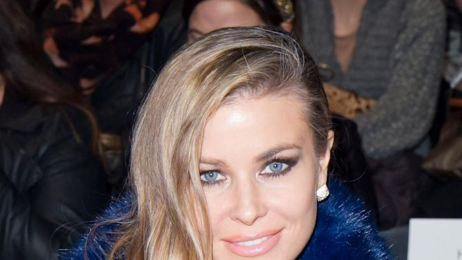 Actress Carmen Electra is seen at the Fall 2013 Betsey Johnson Runway Show at Fashion Week in New York, Monday, February, 11, 2013. (Photo by Ben Hider/Invision/AP)