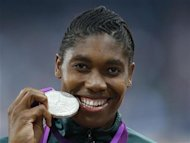 In her first Olympic games Caster Semenya wins Olympic Silver