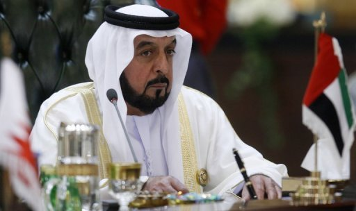 UAE president, Sheikh Khalifa bin Zayed al-Nahayan, pictured in 2009, has warned against undermining the nationa's security as he promised to widen the decision-making process in the nation where some 60 Islamists have been detained this year