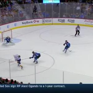 Semyon Varlamov Save on Mike Ribeiro (15:54/2nd)