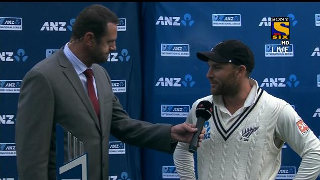 Post Match Interview - Match 2 - NZ vs IND - Day 5