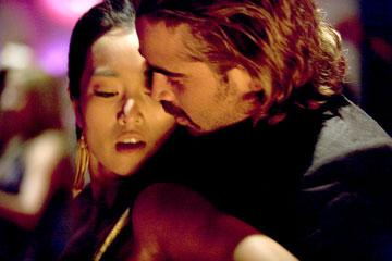 Gong Li and Colin Farrell in Universal Pictures' Miami Vice