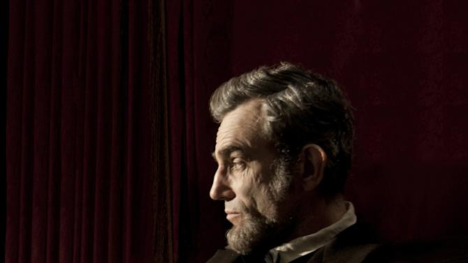 """FILE - This publicity film image released by DreamWorks and Twentieth Century Fox shows Daniel Day-Lewis portraying Abraham Lincoln in the film """"Lincoln.""""  A Congressman who saw a flaw in the movie """"Lincoln"""" says he is pleased the screenwriter has conceded an inaccuracy in its portrayal of an 1865 vote on slavery. U.S. Rep. Joe Courtney, a Democrat who represents eastern Connecticut, said Friday, Feb. 8, 2013, he is still hoping that a correction can be made before the film is released on DVD. (AP Photo/DreamWorks, Twentieth Century Fox, David James, file)"""