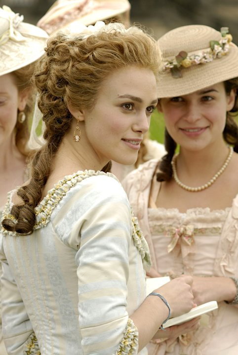 Keira Knightley The Duchess Production Paramount Vantage 2008