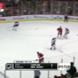 Michal Neuvirth Save on Kyle Quincey (11:49/2nd)