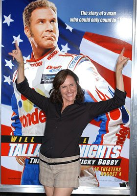 Molly Shannon at the LA premiere of Columbia's Talladega Nights: The Ballad of Ricky Bobby