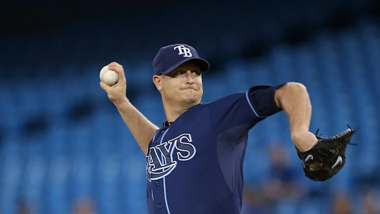 MLB: Tampa Bay Rays at Toronto Blue Jays