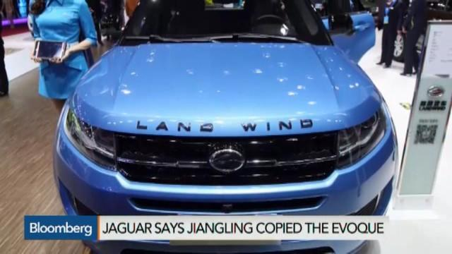 Jaguar Accuses Chinese Automaker of Copying Cars