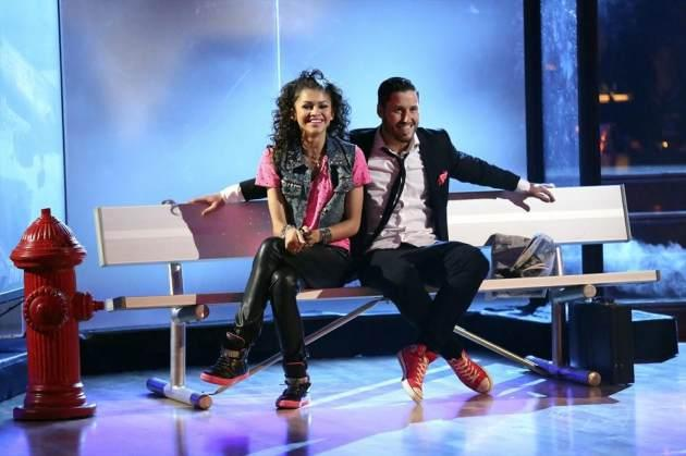 Zendaya and Val compete on 'Dancing with the Stars,' May 13, 2013 -- ABC