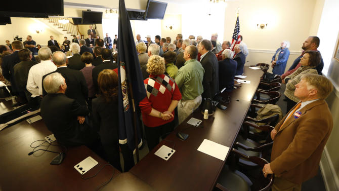 Va. uranium backers take their message to Capitol