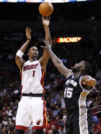 Heat dominate 2nd half, roll past Spurs 120-98