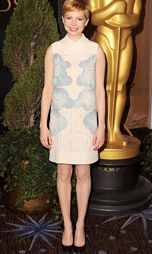 Michelle Williams donned a