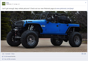 Using Cross Promotion to Grow Your Pinterest Following image jeep 1024x709