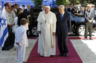 CLICK IMAGE for slideshow: Pope Francis' trip to the Middle East.  (REUTERS/Amir Cohen)