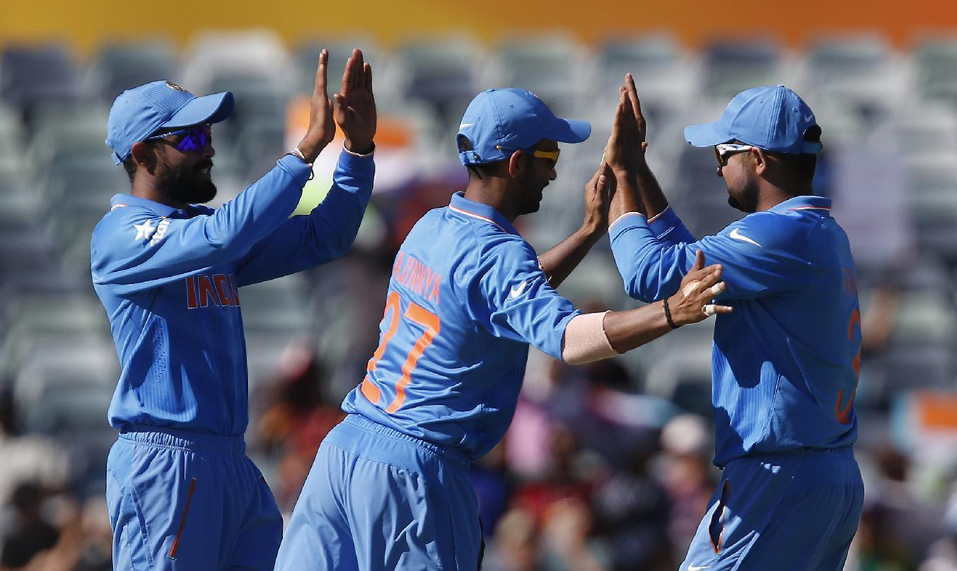 India thrashes UAE by 9 wickets in World Cup Pool B match