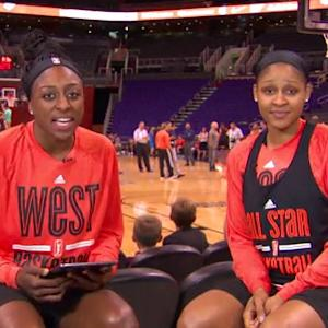Maya Moore answers fan questions live from WNBA All-Star