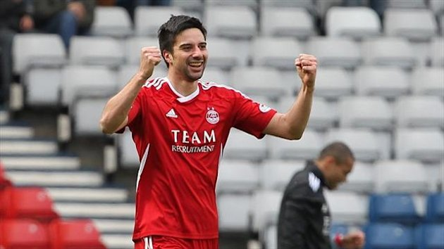 Rory Fallon is among a number of players to leave Aberdeen