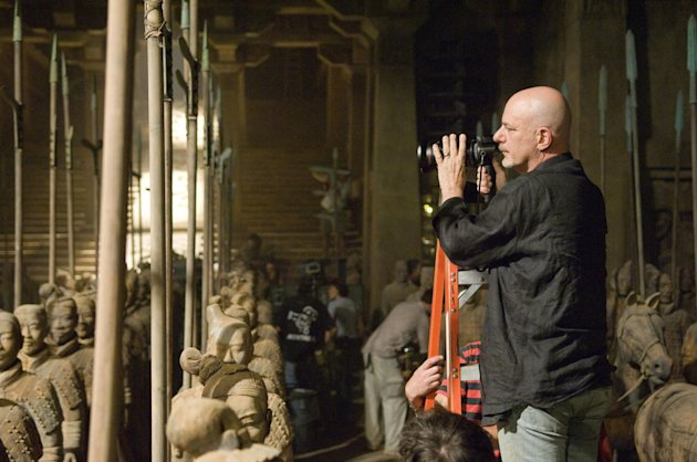 Rob Cohen Director The Mummy: Tomb of the Dragon Emperor Production Universal Pictures 2008