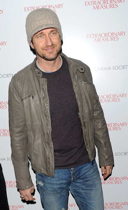 Extraordinary Measures NY Screening 2010 Gerard Butler