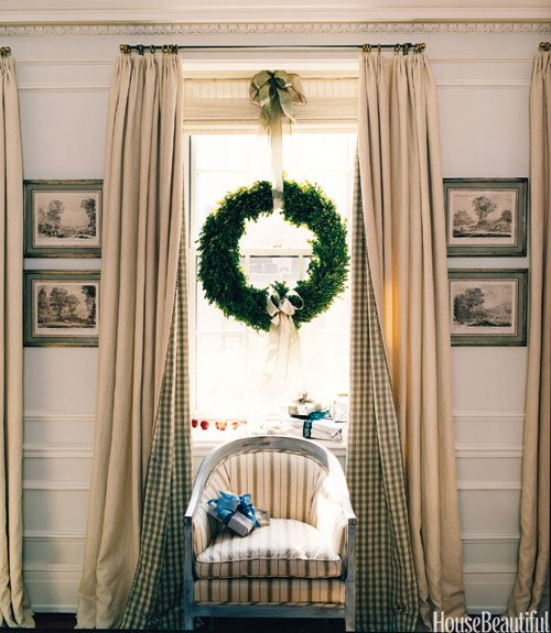 Hang a Wreath in a Window