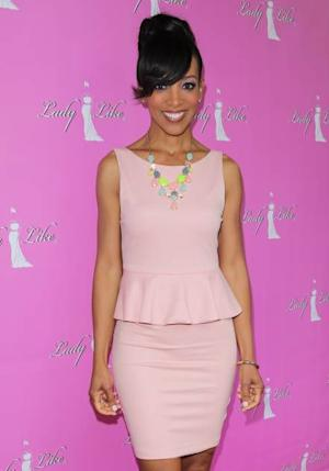 Shaun Robinson attends The LadyLike Foundation's 'Women Of Excellence Awards' at the Luxe Hotel on June 8, 2013 in Los Angeles -- Getty Premium
