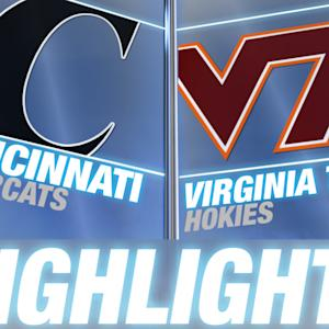 Cincinnati vs Virginia Tech | 2014 ACC Football Highlights