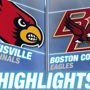 Louisville vs Boston College | 2014-15 ACC Men's Basketball Highlights
