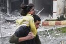 Heavy clashes erupt in Syrian capital
