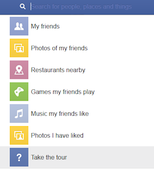 Facebook Graph Search – A First Glance image Facebook Graph Search