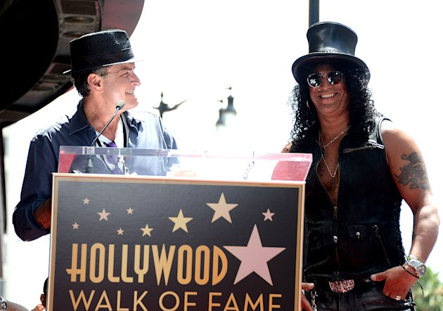 Slash, Charlie Sheen