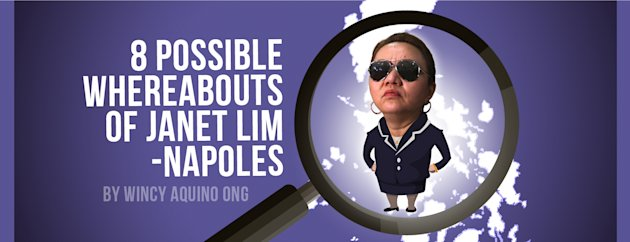 8 Possible Whereabouts of Janet Lim-Napoles