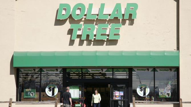 Shoppers enter a Dollar Tree store in Arvada, Colorado